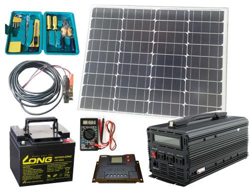 ソーラーカーセットSCS-P100B50