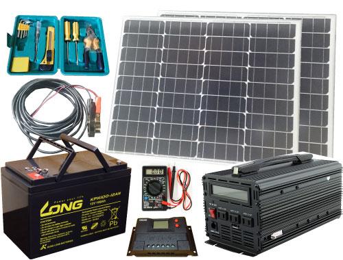 ソーラーカーセットSCS-P200B100